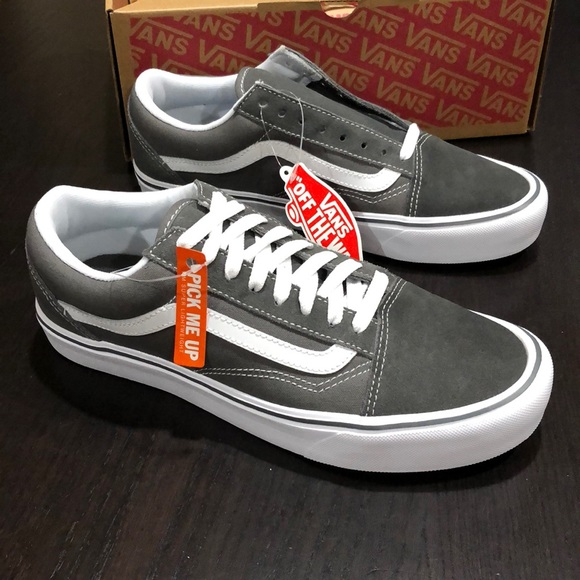 Vans Old Skool Lite Suede Canvas (Pewter)